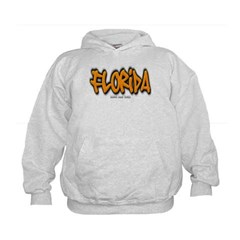 Florida Graffiti Kids Sweatshirt by Hanes
