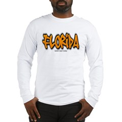 Florida Graffiti Long Sleeve T-Shirt