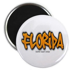 Florida Graffiti Magnet