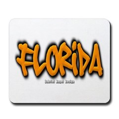 Florida Graffiti Mousepad