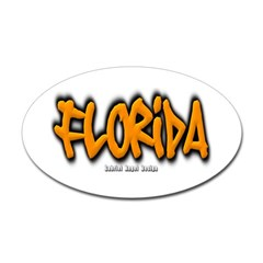 Florida Graffiti Oval Decal
