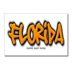 Florida Graffiti Postcards (Package of 8)