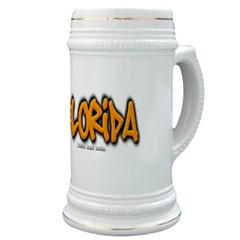 Florida Graffiti Stein
