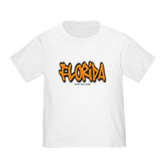 Florida Graffiti Toddler T-Shirt