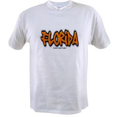 Florida Graffiti Value T-shirt