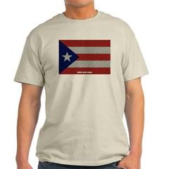 Puerto Rico Cloth Flag Classic T-Shirt