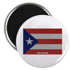 Puerto Rico Cloth Flag Magnet