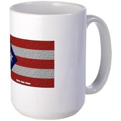 Puerto Rico Cloth Flag Mug