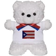 Puerto Rico Cloth Flag Teddy Bear