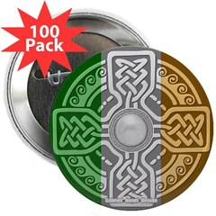 "Celtic Shield 2.25"" Button (100 pack)"