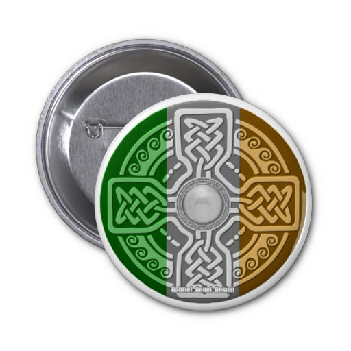 Celtic Shield 2 Inch Round Button