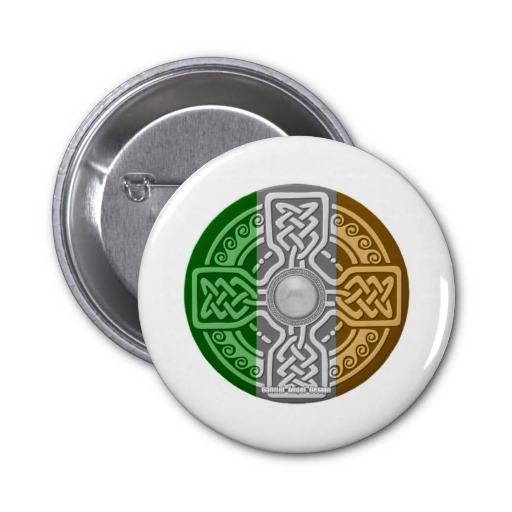 Celtic Shield 2 Inch Round Button