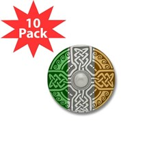 Celtic Shield Mini Button (10 pack)