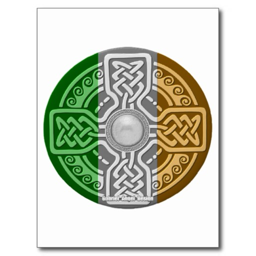 Celtic Shield Postcard