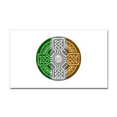 Celtic Shield Rectangle Decal