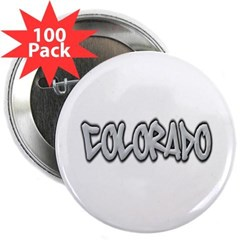 "Colorado Graffiti 2.25"" Button (100 pack)"