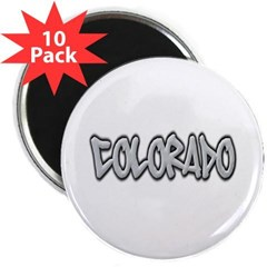"Colorado Graffiti 2.25"" Magnet (10 pack)"