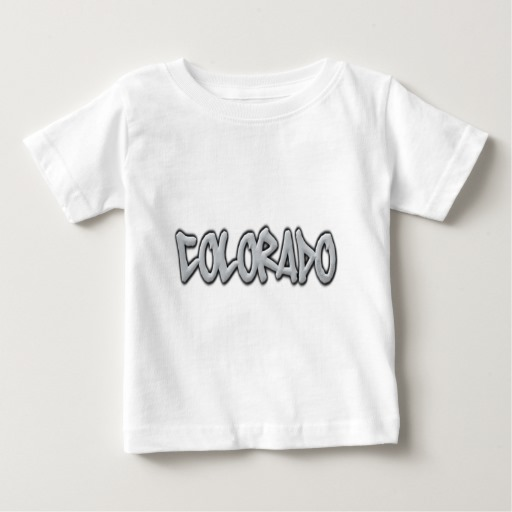 Colorado Graffiti Baby Fine Jersey T-Shirt