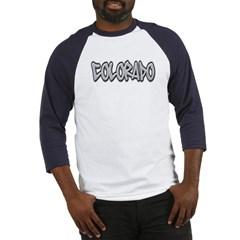 Colorado Graffiti Baseball Jersey T-Shirt