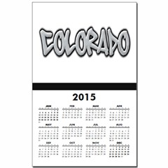 Colorado Graffiti Calendar Print