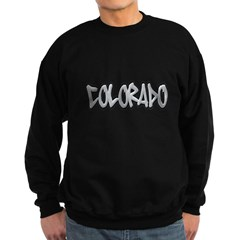 Colorado Graffiti Dark Sweatshirt