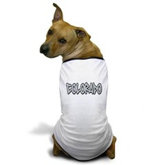Colorado Graffiti Dog T-Shirt