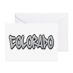 Colorado Graffiti Greeting Cards (Pk of 10)