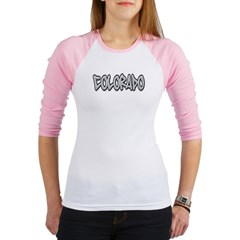 Colorado Graffiti Junior Raglan T-shirt
