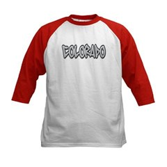 Colorado Graffiti Kids Baseball Jersey T-Shirt