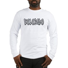 Colorado Graffiti Long Sleeve T-Shirt