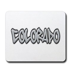 Colorado Graffiti Mousepad