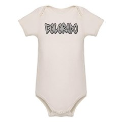 Colorado Graffiti Organic Baby Bodysuit