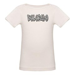 Colorado Graffiti Organic Baby Tee