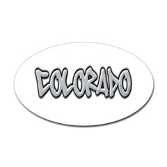 Colorado Graffiti Oval Decal