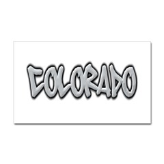 Colorado Graffiti Rectangle Decal