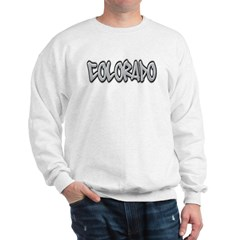 Colorado Graffiti Sweatshirt
