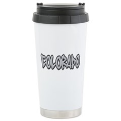 Colorado Graffiti Travel Mug
