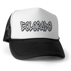 Colorado Graffiti Trucker Hat