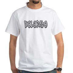 Colorado Graffiti White T-Shirt