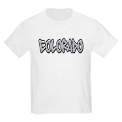 Colorado Graffiti Youth T-Shirt by Hanes