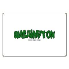 State of Washington Graffiti Banner