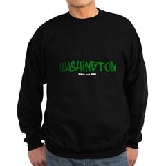State of Washington Graffiti Dark Sweatshirt