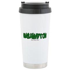 State of Washington Graffiti Travel Mug