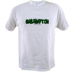 State of Washington Graffiti Value T-shirt