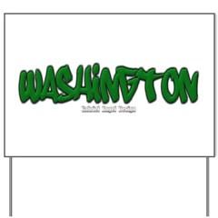 State of Washington Graffiti Yard Sign