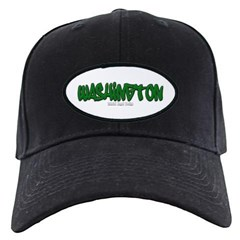 Washington Graffiti Baseball Hat