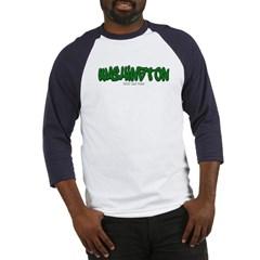 Washington Graffiti Baseball Jersey T-Shirt