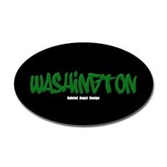 Washington Graffiti (Black) Decal
