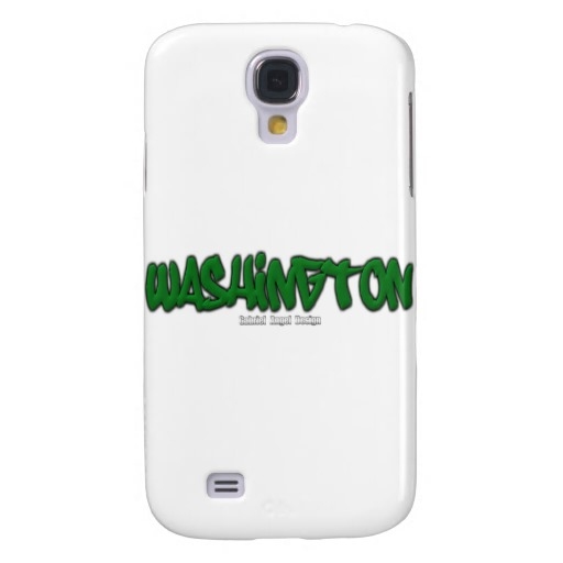 Washington Graffiti Case-Mate Barely There Samsung Galaxy S4 Case