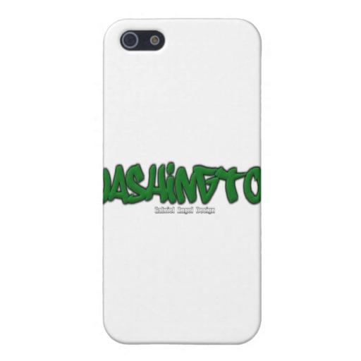 Washington Graffiti Case Savvy Matte Finish iPhone 5/5S Case